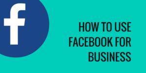 facebook for business | skillzlearn